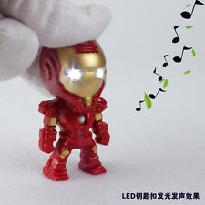 Cartoon Movie Roles Light Up LED Torch With sound Keyrings KeyChain TOYS UKYS123