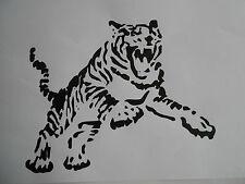 Schablone Tiger 5 auf A4