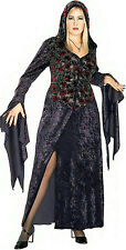Dark Vixen Covenant Plus Size Hooded Velvet Dress Adult Costume