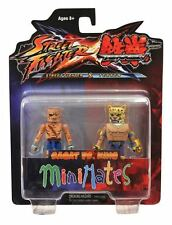 Street Fighter X Tekken S1 Minimates Sagat VS King MINT