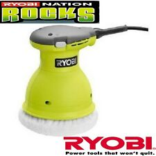 "Ryobi RB61G Green 6"" Orbital Buffer  Professional Swirl Free Finish Tool ZRRB618"