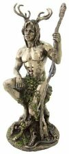 "10.5"" Herne the Hunter Figurine Statue Celtic God Lord of the Forest Cernunnos"