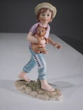+# A013498 Goebel Archivmuster Martine-Figur von Marcel Marlier Mädchen mit Hund