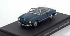 1:43 Minichamps VW Karmann Ghia Convertible Type 14 1957 blue