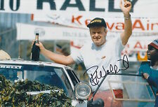 Bjorn Waldegard Hand Signed 12x8 Photo Rally Legend 4.