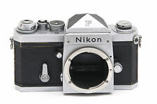 Nikon F SLR camera body with F prism finder