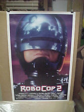ROBOCOP 2, orig rolled D/S 1-sht / movie poster (Peter Weller)