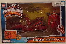 "Power Rangers Dino Thunder - Triassic Raptor Cycle With 5"" Ranger Bandai (MISB)"