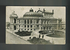 1928 Odessa Russia USSR Picture postcard cover Big Building