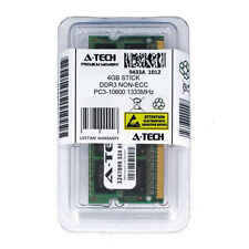 Atech 4GB SODIMM DDR3 Laptop PC3-10600 10600 1333MHz 1333 204-pin Ram Memory