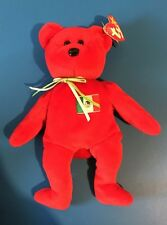 Osito Bear Mexico ORIGINAL TY Beanie Baby Rare Hand Made No Stamp Retired