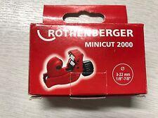 ROTHENBERGER MINICUT 2000 TUBE CUTTER 3 - 22MM 7.0105