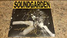 "* SOUNDGARDEN * rare signed 1989 ""Louder Than Love"" album flat original members"