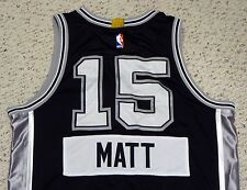 Matt Bonner - 2014 NBA Christmas Day Game Worn Jersey - San Antonio Spurs #15