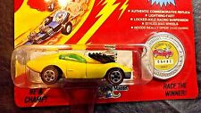 1993 JOHNNY LIGHTNING VICIOUS VETTE YELLOW COMMEMORATIVE LIMITED ED CHALLENGER