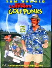 National Lampoon's Golf Punks  ,NEW! DVD ,FREE SHIP! COMEDY, GOLF, TOM ARNOLD PG