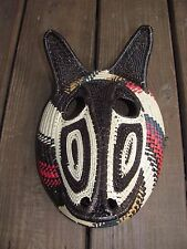 Embera Shaman Mask Fox Panama Darien Region near Colombia Made of Chunga
