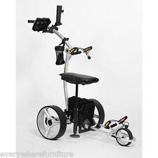2016 Bat Caddy X4R Lithium Battery Remote Control Electric Golf Bag Cart Trolley