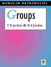 Modular Mathematics: Groups by David Jordan and Camilla Jordan (1994, Paperback)