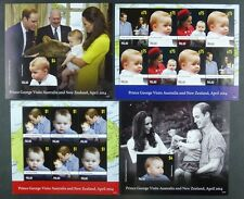 Palau 2014 Prince Georg Royal Visit Australien William & Kate Royalty ** MNH