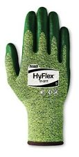 Ansell 11-511-8 Size 8 Hyflex Medium Duty Coated Work Gloves Green