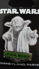 PINS DISNEY DISNEYLAND PARIS STAR WARS : SERIE DESSIN YODA
