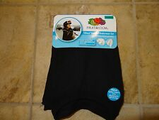BOYS SIZE LARGE (10-12) BLACK THERMAL UNDERWEAR SET BY FRUIT OF THE LOOM *NWT*