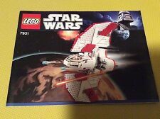New Lego Instruction Manual ONLY Star Wars 7931 T-6 Jedi Shuttle