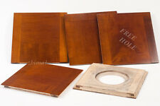 """1 Wooden Lens Board  6""""x 6"""" for 2D Eastman / B&J 8"""" x 10""""- undrilled, free hole."""