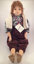 """Steiff 705021, Puppe """"Michael"""", von Rosa Adami, limitierte Serie, NEU, OVP"""