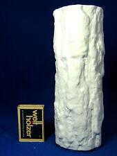 """70´s Pop Art Ernst Fenzl Design Bareuther relief porcelain vase """"Silvana"""" 18 cm"""