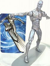 "Marvel Universe Series 1 #003 SILVER SURFER 3.75"" Complete Figure Hasbro 2008"