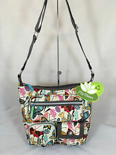 NWT Lily Bloom Nina Hobo Purse in Butterfly Paradise