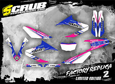 SCRUB Yamaha graphics decals kit WR 125R 2009 - 2017 stickers motocross '09-'17
