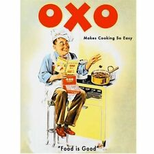 OXO MAKES COOKING SO EASY NOSTALGIC VINTAGE KITCHEN CAFE METAL SIGN PLAQUE 74