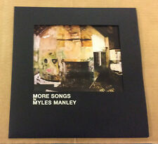 Myles Manley - More Songs - great Irish alt folk / indie pop album