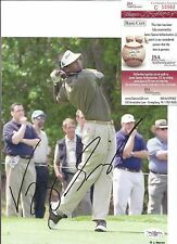 Vijay Singh Signed 8 x 10 Photo JSA Authenticated