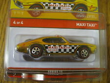 Maxi Taxi Hot Wheels Red Line Club RLC Series 13 In Stock Now 3600/4000 Olds 442