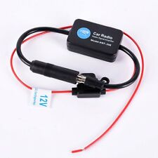 Ncie Auto Car Antenna Aerial Radio Signal Reception Amplifier Amp Booster FM 12V