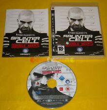 TOM CLANCY'S SPLITER CELL DOUBLE AGENT Ps3 Versione Ufficiale Italiana COMPLETO