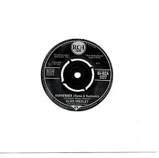 "ELVIS PRESLEY - SURRENDER (TORNA A SURRIENTO) - 7"" 45 VINYL RECORD"
