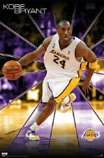 2009 COSTACOS BROS NBA LOS ANGELES LAKERS KOBE BRYANT POSTER NEW