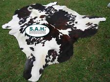 Best Sell Item Gorgeous TRICOLOR EXOTIC SAH COWHIDE RUG 6X6 $116