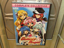 Galaxy Angel Complete Collection 4 DVD Box Set Authentic BRAND NEW Bandai 2006