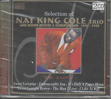 Selection of Nat King Cole Trio with Oscar Moore &Johnny Miller 1941-1945 2CDNEU