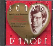 """VITTORIO SGARBI - RARO CD FUORI CATALOGO 1995 """" POESIE D'AMORE """""""