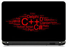 Programmer Laptop skin for 15.6 inches laptop