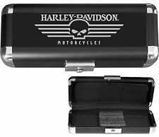 NEW HARLEY DAVIDSON LOGO LASER ENGRAVED DART AND ACCESSORY  TRAVEL CASE #48