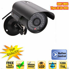 1200TVL HD 6mm Lens IR Night Vision Outdoor Waterproof CCTV Security Camera E1