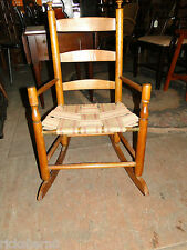 EARLY   1800's  AMERICAN  ROCKING  CHAIR